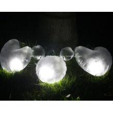 Luz que acampa solar inflable impermeable del LED