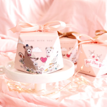 Decorative+small+pink+candy+packaging+box