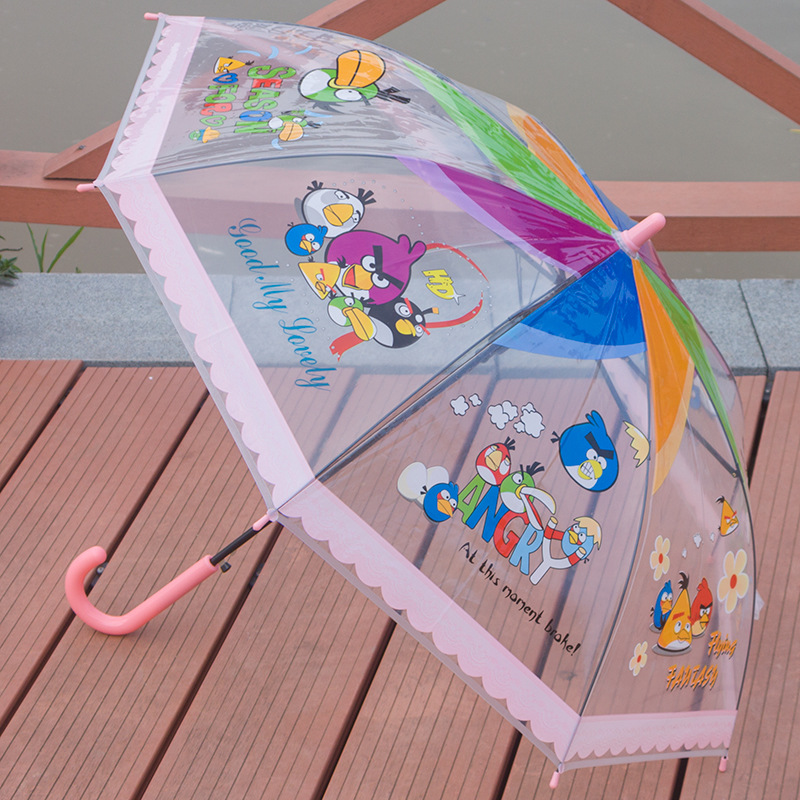 Transparent Children Umbrella POE kids umbrella02