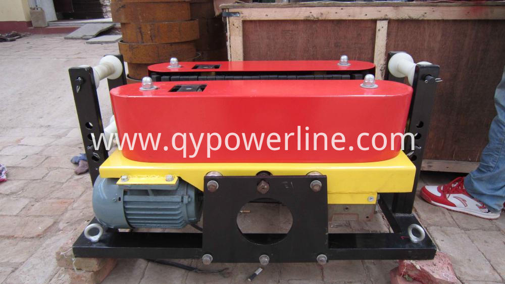 cable blowing machine cable winch