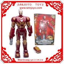 Modelo JXD1019 Robot de Iron-Man puede bailar y hablar juguetes robot RC