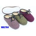 Gaufrage plate-forme Scafo intérieure pantoufles des femmes