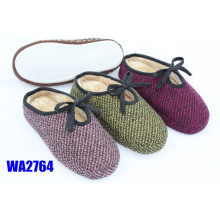 Women's Embossing Platform Scafo Indoor Slippers