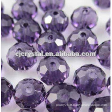 Cristal Beads Cortinas, contas de rondelle de alta qualidade