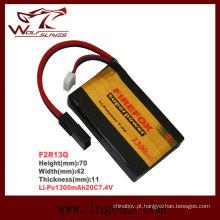 O Firefox 7.4 v 1300mAh Li-Po Li-polímero modelo Power bateria 20 c