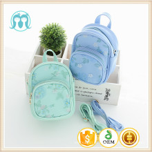niñas hermosa mini mochila niños bolsas de escuela bolsas de color menta para niños uso de bolsas diarias