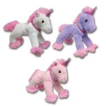 ICTI Audited Factory stuffed plush unicorn toy