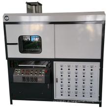 Máquina formadora de chapa plástica com forno automático