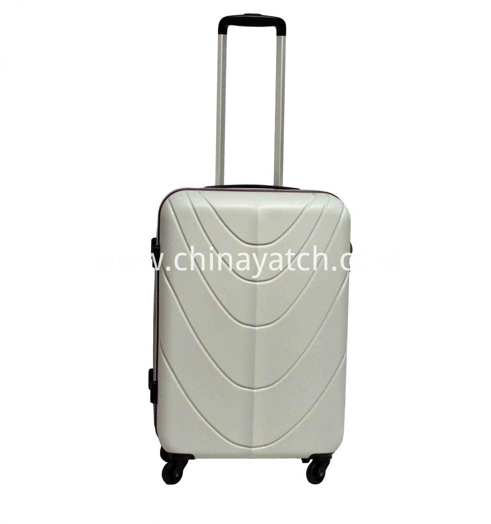 Piping ABS Luggage with Contract Color