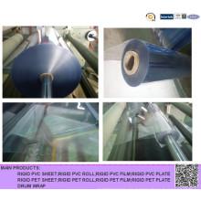 Super Clear Hart-PVC-Rolle für das thermische Umformen