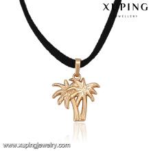 43814 xuping uniques nouveaux modèles 18 k or pendentif spécial collier bijoux de corps faisant des fournitures