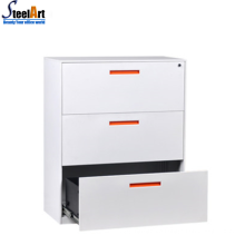 Lateral filing cabinet steel office filing cabinet with drawers design
