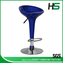 Hot selling height--adjustable lift fiberglass bar stool