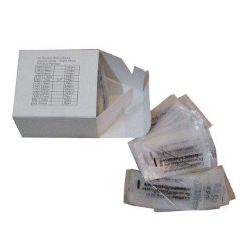 Profissional esterilizados Piercing agulhas do corpo de aço inoxidável