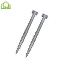 Eco-friendly galvanized ground screw for sale