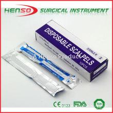 Escalpelo cirúrgico estéril de HENSO