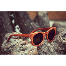 Handmade Simple Brand Wooden Sunglasses (FX15032)