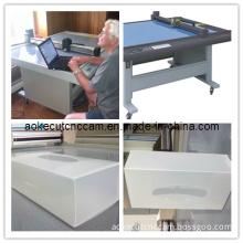 Bespoke Packaging Plastic Box Mock up Sample Cutting Machine
