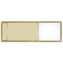 Planche coulissante-crème-colorée pour l'utilisation scolaire