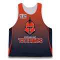 Design personalizzato team reversibile maglie lacrosse Top