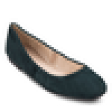 Elegante piso mujeres cuadrado toe ballerina 2016 ladies shoe