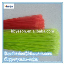 Varetas de plástico de fio redondo / vassoura de plástico de preço baixo