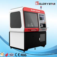 Máquina de corte do metal do laser da fibra para o processamento da peça de tamanho do mini
