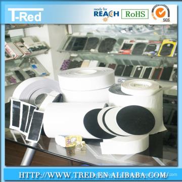 10 años de fábrica reutilizable lavable Stciky almohadilla de gel Raw Anti Slip almohadilla de Gel material almohadilla adhesiva de gel troquelado