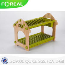 Melhores casas e suporte de suporte de prato de plástico de jardim