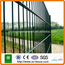 Panneaux de clôture à double fil métallique certifiés CE