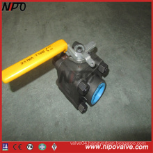 A105 Forged Steel NPT Threaded Ball Valve