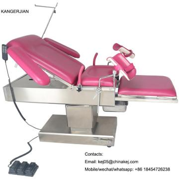 Popular+Electric+Gynecology+Chair+Table