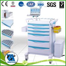 BDT8138 Medizin Trolley-ABS Körper, Metall Kugellager Schiene