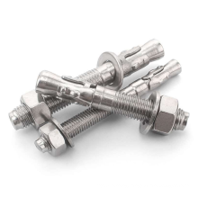 High quality High strength anchor stainless steel expansion Wedge Anchor  bolts