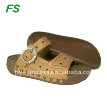 hottest selling PU casual beach sandal for women