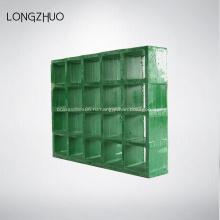 Усиленная плоская решетка из стеклопластика
