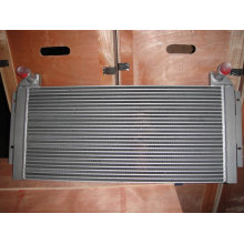 Hydraulic oil radiator for engineering machinery