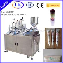 Guangzhou Cosmetics soft plastic tube Ultrasonic tube sealing machine