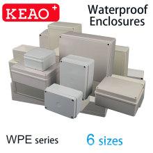 8 Sizes IP67 PC abs plastic antiflaming cable junction box  unique waterproof enclosure  sealed housing electrical box enclosure