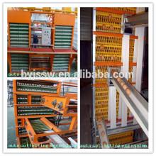 Sistema automático de recolección de huevos de gallina