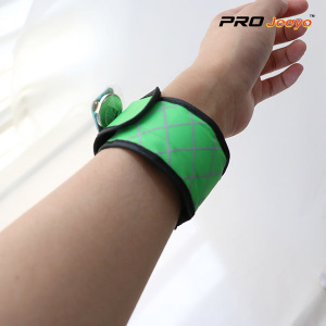 LED Night Vision Oxford Fabric Green Plaid Armband