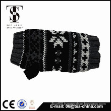 fashionable lovely winter snow jacquard knitted glove