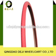 pneus/pneus de bicicleta de alta qualidade e preços de tubo vermelho