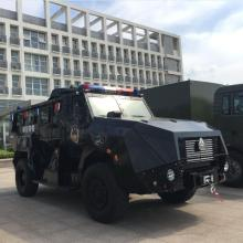 Sinotruk Armoured Vehicle with Bullet Proof for Police and Army