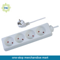 PP Extension Power Strips and Power Outlets