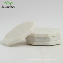 Nouveau design napperons et sous-verres en granit poli