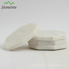 Novo design polido granito placemats e coasters