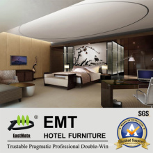 Luxurious Hotel Furniture Bedroom Furniture (EMT-A1103)