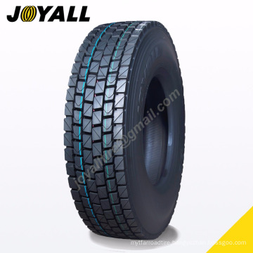 JOYALL Chinese factory TBR tire B878 super over load and abrasion resistance 11r22.5 for your truck