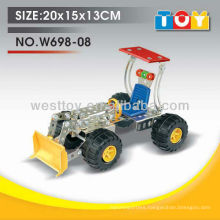 High quality funny alloy DIY bulldozer toy with all test report